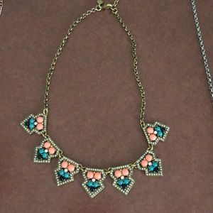 J.Crew like new colored necklace